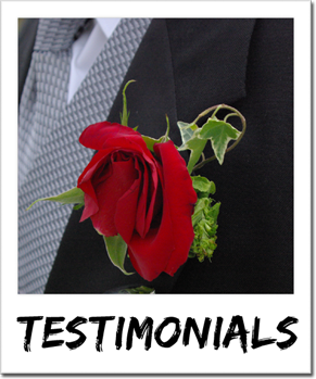 Par 4 DJ Services testimonials from clients around Vancouver Island.